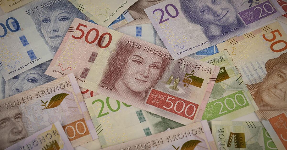 Allt Fler Falska 500 Lappar Upptacks Sveriges Riksbank