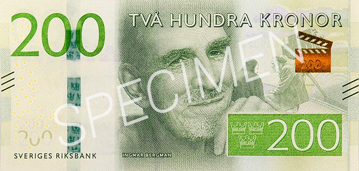 200 Krona Banknote Sveriges Riksbank