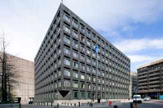 The Riksbank building
