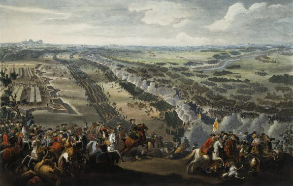 The Battle of Poltava