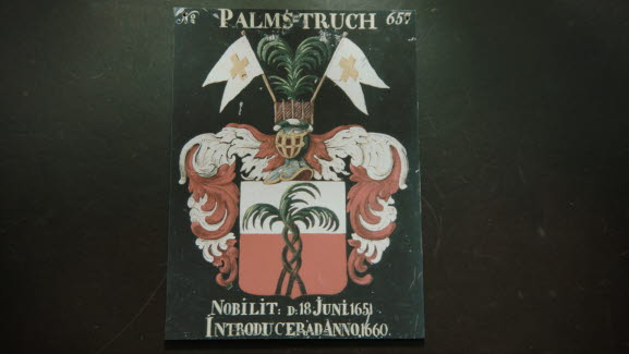 Johan Palmstruch's coat of arms